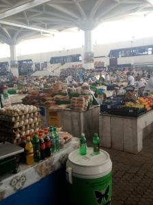 Russian Market in Ashgabat. Beware of the  Kebabs.