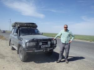 Finally on Turkmenistan soil