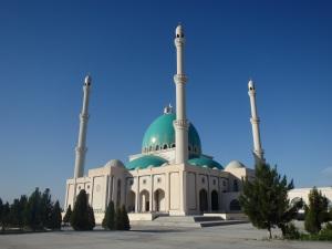 Saparmurat Hajii Mosque at Goek-Depe