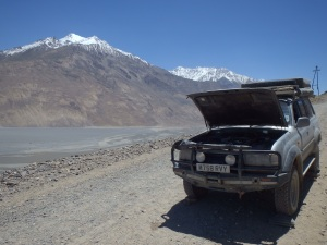 Tajikistan Part 2 – The Pamir Highway and blagging my way out of the country, again!