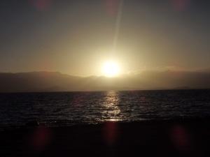 Karakol Lake Sunset (Tajikistan)