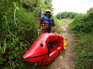 A Pack Rafting Adventure on the Mekong River