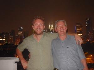 Me and my Dad (Kuala Lumpur, Malaysia)