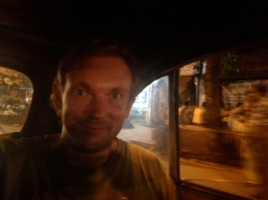 Kolkata by taxi. Not quite as much fun as it will be in Boris (Kolkata, India)